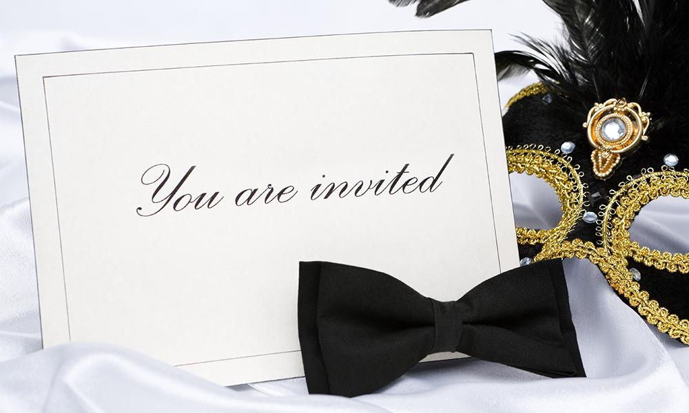 invito ufficiale alla serata di gala