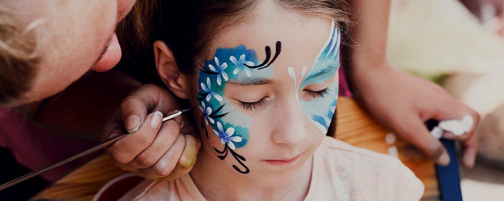 Body painting per bambini