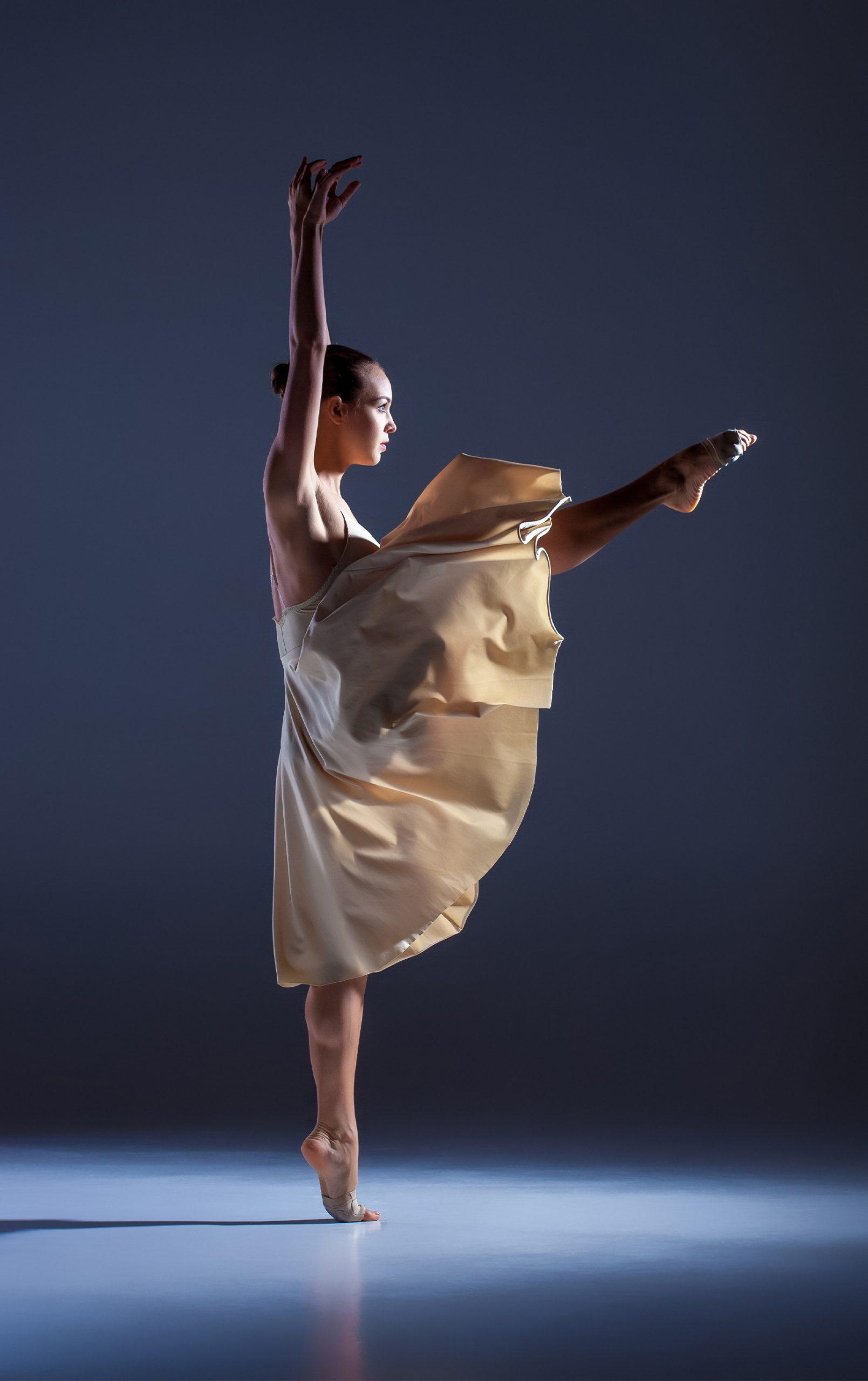 foto professionale di ballerina di danza classica