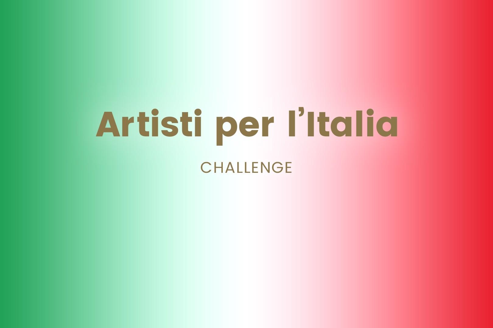 Sfumaura con colori della bandiera italiana