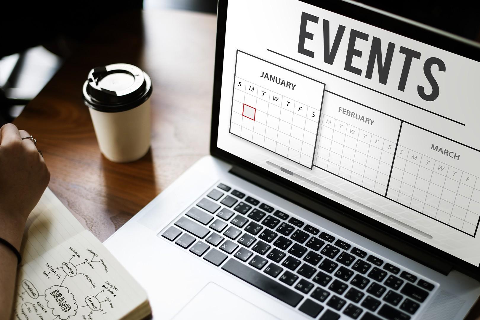 computer con programmazione di eventi