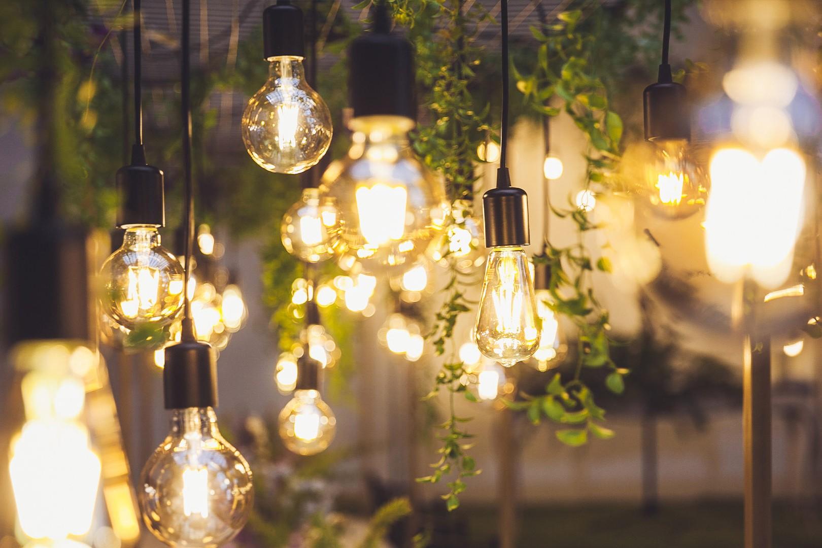 illuminazione luce calda per un effetto soft